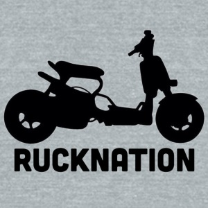 Ruckus rucknation - Unisex Tri-Blend T-Shirt by American Apparel