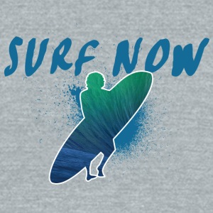 surfer - Unisex Tri-Blend T-Shirt by American Apparel