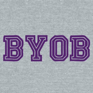 BYOB - Unisex Tri-Blend T-Shirt by American Apparel