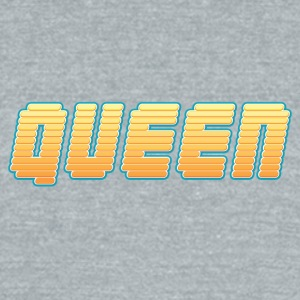 Yellow Queen - Unisex Tri-Blend T-Shirt by American Apparel