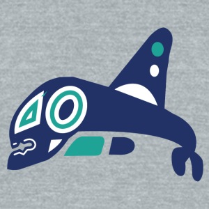 Vancouver Whalers - Unisex Tri-Blend T-Shirt by American Apparel