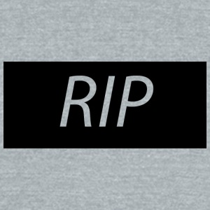 RIP - Unisex Tri-Blend T-Shirt by American Apparel