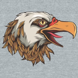 screaming_eagle - Unisex Tri-Blend T-Shirt by American Apparel