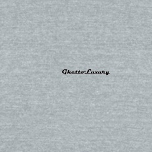 ghettoluxurylogo - Unisex Tri-Blend T-Shirt by American Apparel