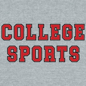 COLLEGE_SPORTS - Unisex Tri-Blend T-Shirt by American Apparel