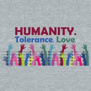 Humanity - Unisex Tri-Blend T-Shirt by American Apparel