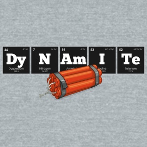 Periodic Elements: DyNAmITe - Unisex Tri-Blend T-Shirt by American Apparel