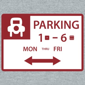 Free Parking - Unisex Tri-Blend T-Shirt by American Apparel