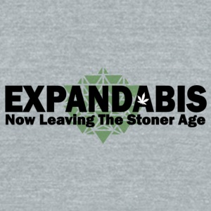 Expandabis Black Logo - Unisex Tri-Blend T-Shirt by American Apparel