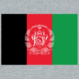 Afghanistan flag - Unisex Tri-Blend T-Shirt by American Apparel