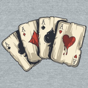 gaming_cards - Unisex Tri-Blend T-Shirt by American Apparel