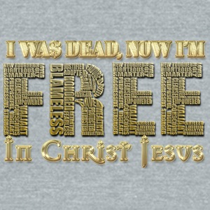 Free From Greed - Unisex Tri-Blend T-Shirt by American Apparel