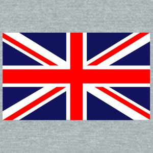 british flag - Unisex Tri-Blend T-Shirt by American Apparel