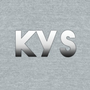 kys - Unisex Tri-Blend T-Shirt by American Apparel