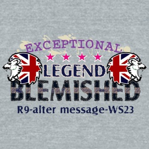 exceptional legend - Unisex Tri-Blend T-Shirt by American Apparel