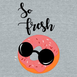 So Fresh DOnut - Unisex Tri-Blend T-Shirt by American Apparel