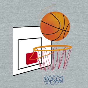 basket - Unisex Tri-Blend T-Shirt by American Apparel