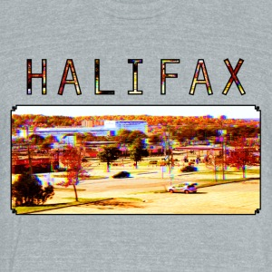 Halifax - Unisex Tri-Blend T-Shirt by American Apparel