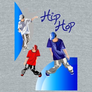 hiphop - Unisex Tri-Blend T-Shirt by American Apparel