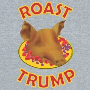 TRUMPROASTPIG - Unisex Tri-Blend T-Shirt by American Apparel