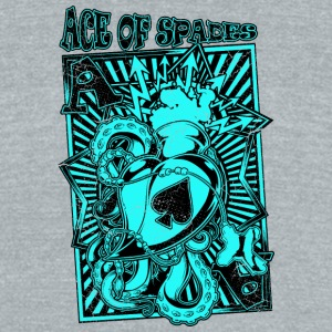 ace of spades - Unisex Tri-Blend T-Shirt by American Apparel