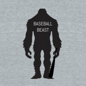 Baseball Beast - Unisex Tri-Blend T-Shirt by American Apparel
