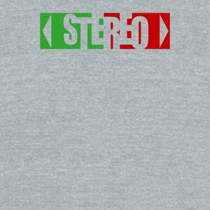 Surround Stereo - Unisex Tri-Blend T-Shirt by American Apparel