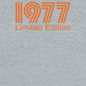 1977 Limited Edition - Unisex Tri-Blend T-Shirt by American Apparel