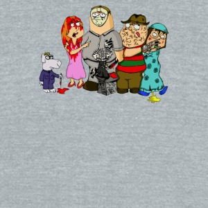 Horror Guy Family Guy Horror Parody - Unisex Tri-Blend T-Shirt by American Apparel