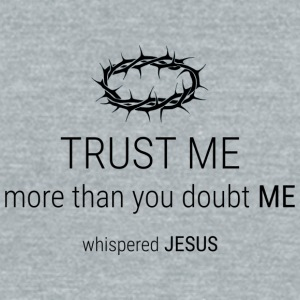 Trust-Me - Unisex Tri-Blend T-Shirt by American Apparel