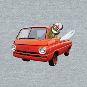 Surfer Pickle in a Truck - Unisex Tri-Blend T-Shirt by American Apparel