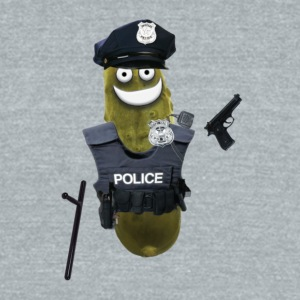 Police Pickle - Unisex Tri-Blend T-Shirt by American Apparel