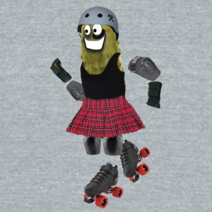 Roller Derby Pickle - Unisex Tri-Blend T-Shirt by American Apparel