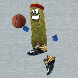 Basketball Pickle - Unisex Tri-Blend T-Shirt by American Apparel