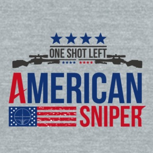 American Sniper - Unisex Tri-Blend T-Shirt by American Apparel