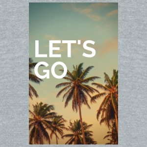 Let's Go - Unisex Tri-Blend T-Shirt by American Apparel