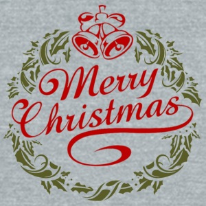 Merry_christmas - Unisex Tri-Blend T-Shirt by American Apparel
