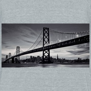 Moonlight - Unisex Tri-Blend T-Shirt by American Apparel