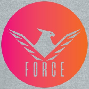 Force The eagle of the migthy - Unisex Tri-Blend T-Shirt by American Apparel