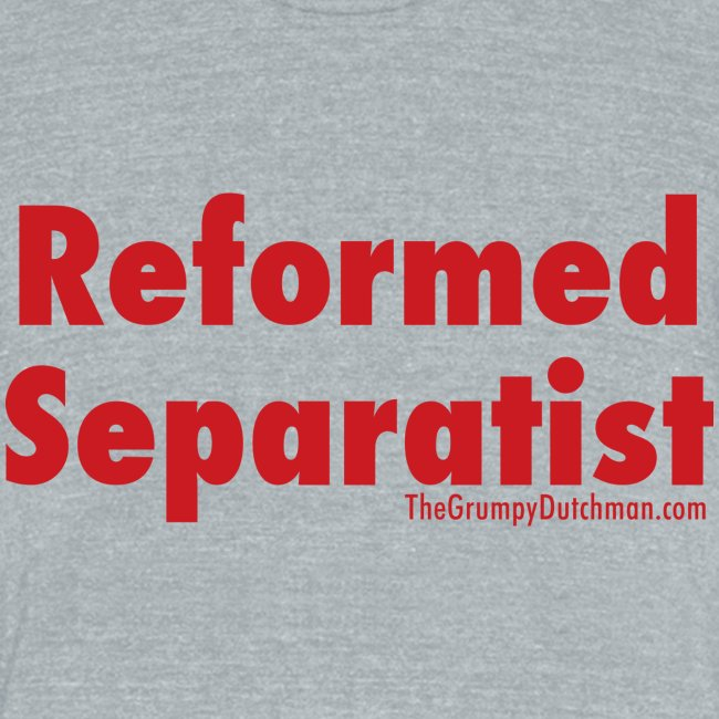 34 Separatist red lettering