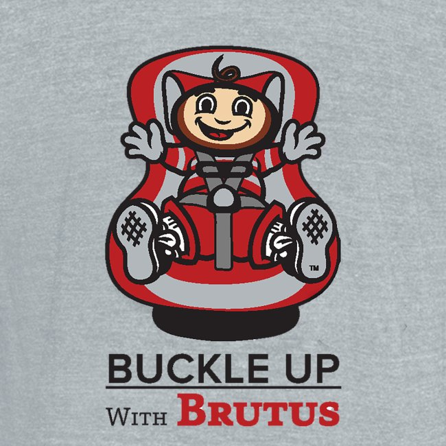 """IBRC Pocket Logo with """"Buckle Up Brutus"""" on Back"""