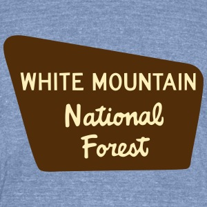 White Mtns - Unisex Tri-Blend T-Shirt by American Apparel