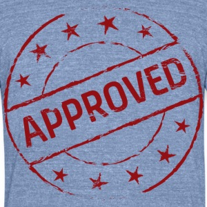 approved - Unisex Tri-Blend T-Shirt by American Apparel