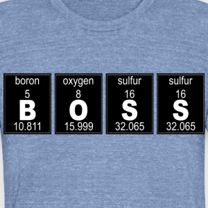 Chemistry BOSS - Unisex Tri-Blend T-Shirt by American Apparel