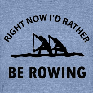 rowing designs - Unisex Tri-Blend T-Shirt by American Apparel