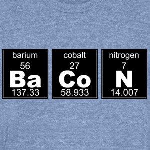 Chemistry BaCoN - Unisex Tri-Blend T-Shirt by American Apparel