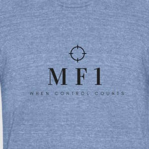 MF1 - Unisex Tri-Blend T-Shirt by American Apparel