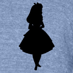 alice girl - Unisex Tri-Blend T-Shirt by American Apparel