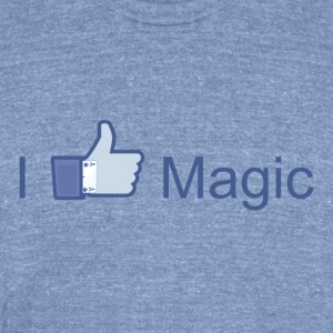 I Like Magic - Unisex Tri-Blend T-Shirt by American Apparel