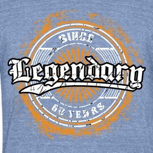 Legendary since 60 years t-shirt and hoodie - Unisex Tri-Blend T-Shirt by American Apparel